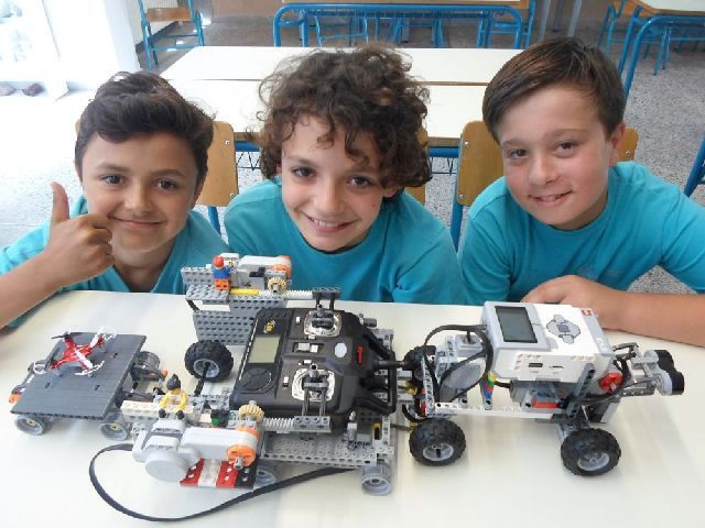 Διάκριση στον Διαγωνισμό Ρομποτικής