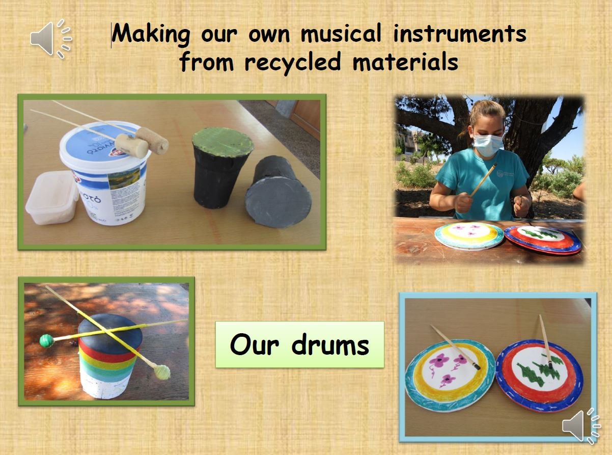 From trash to music