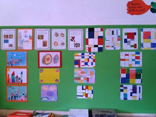 Arts et Mathématiques: S'exprimer avec des lignes, des formes et des couleurs
