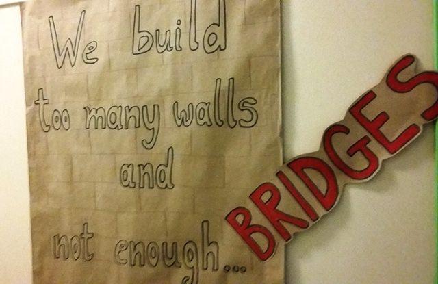 """""""Education is all a matter of building bridges"""" Ralph Ellison"""