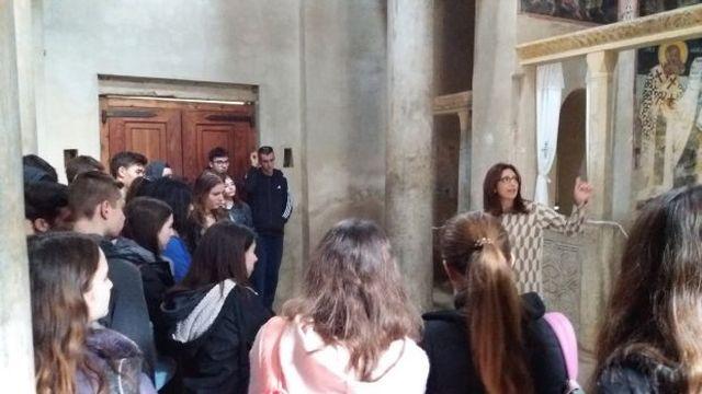 Εκπαιδευτική εξόρμηση στη Μονή Καισαριανής