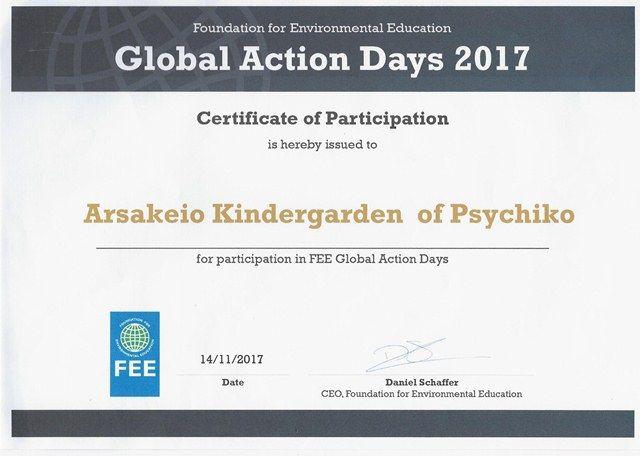Global Action Days 2017: Εβδομάδα δράσης