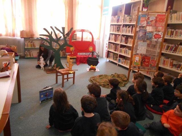 Επίσκεψη στην πιο φιλόξενη Παιδική Βιβλιοθήκη