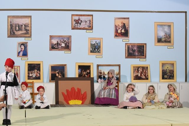 Μια πινακοθήκη γεμάτη αναμνήσεις – Εορτή για τον Ευαγγελισμό τής Θεοτόκου και την 25η Μαρτίου 1821