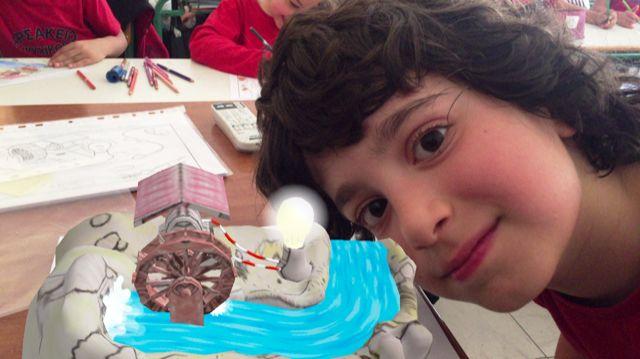 Ζωντανεύω τη ζωγραφιά μου με τη δύναμη τής τεχνολογίας…