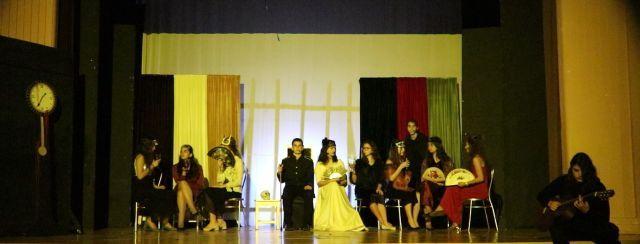 Θεατρική παράσταση στο πλαίσιο τού Πολιτιστικού Διημέρου