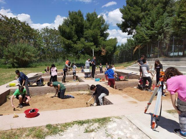 Δειγματική ανασκαφή στο Αρχαιολογικό και Περιβαλλοντικό Πάρκο τού Σχολείου