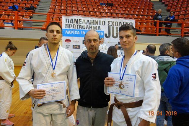 Διάκριση στους Πανελλήνιους Αγώνες Judo