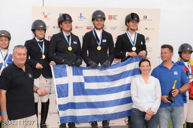 Διακρίσεις αθλήτριας στους Βαλκανικούς Αγώνες Ιππασίας