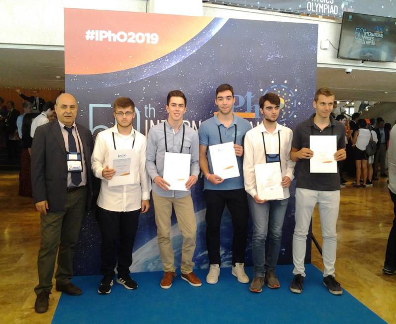 Διάκριση στη Διεθνή Ολυμπιάδα Φυσικής 2019