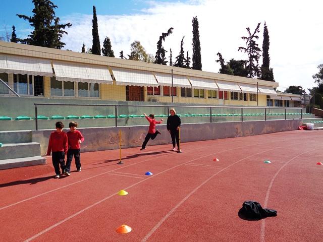 Υποδεχόμαστε μια Ολυμπιονίκη στο σχολείο