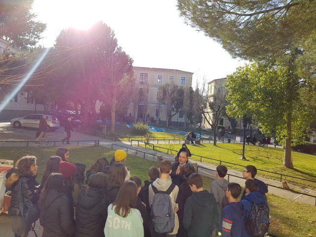 Διδακτική επίσκεψη στο Πρωτοδικείο Αθηνών
