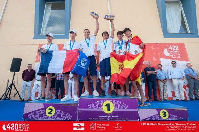 Xρυσό μετάλλιο στο Παγκόσμιο Πρωτάθλημα Ιστιοπλοΐας
