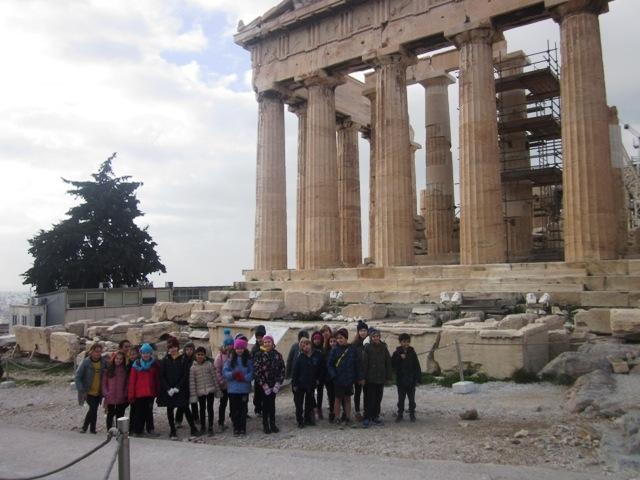 """Εκπαιδευτικό πρόγραμμα """" Τα μνημεία τής Ακρόπολης"""""""