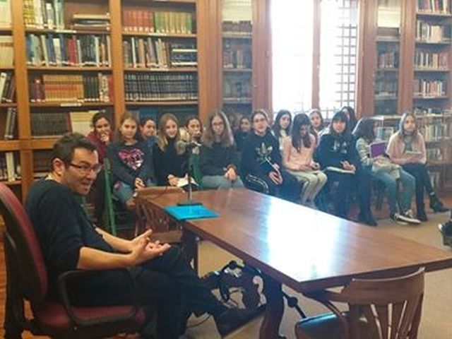 Συνάντηση με τον συγγραφέα Γιώργο Παναγιωτάκη