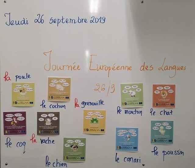 Η Ευρωπαïκή Ημέρα Γλωσσών στα Γαλλικά