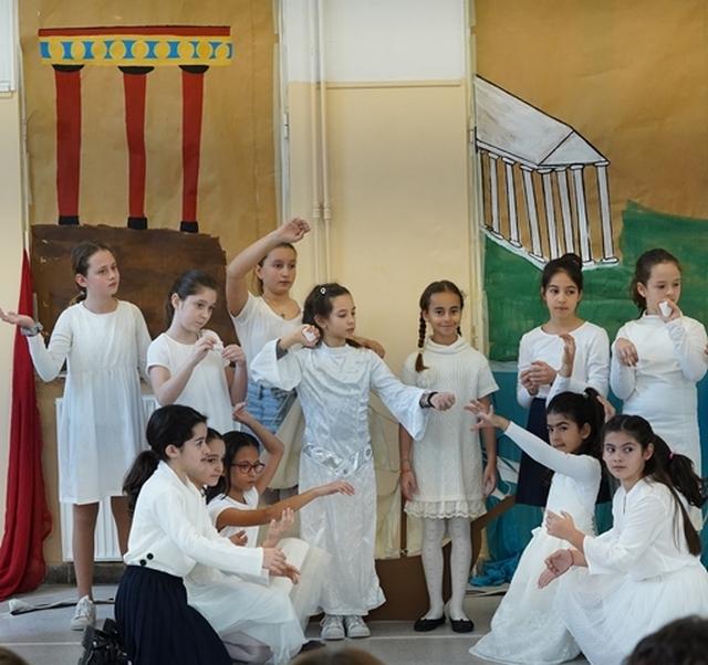 Παρουσίαση πολιτιστικού-διαθεματικού προγράμματος τής Δ΄ τάξης