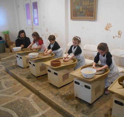 Επίσκεψη στο Κέντρο Ελληνικής Κεραμικής