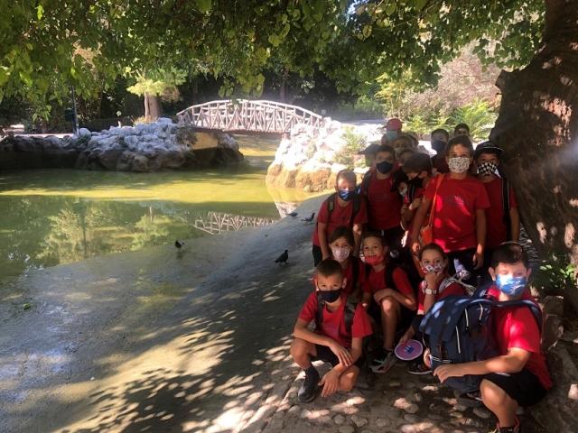 Επίσκεψη στον Εθνικό Κήπο