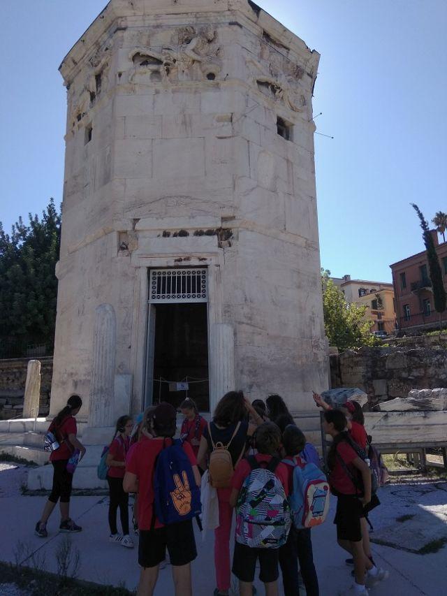Επίσκεψη στη Ρωμαϊκή Αγορά