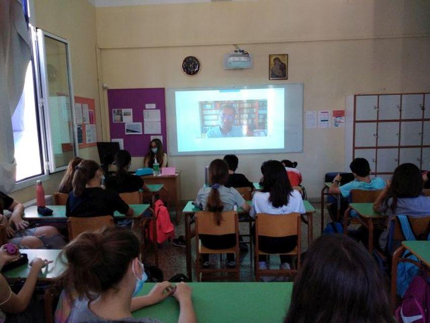 Διαδικτυακή συνάντηση με τον συγγραφέα Ισίδωρο Ζουργό