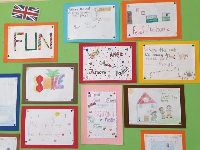 Τα Αγγλικά τμήματα για την Ευρωπαϊκή Ημέρα Γλωσσών