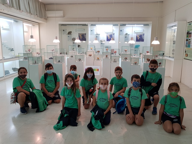 Επίσκεψη στο Μουσείο Ορυκτολογίας