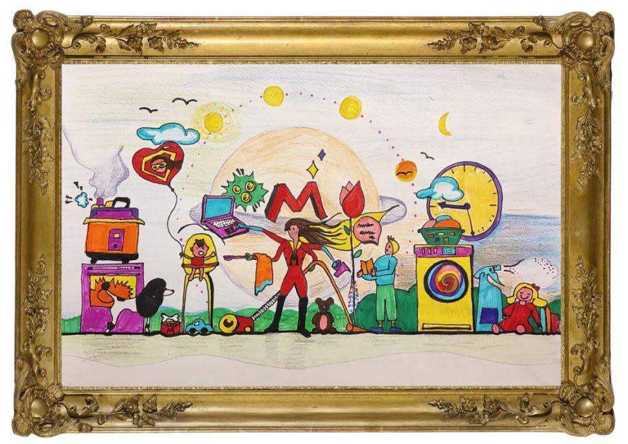 2ηθέσησε διαγωνισμό ζωγραφικής τούΜουσείου Κυκλαδικής Τέχνης