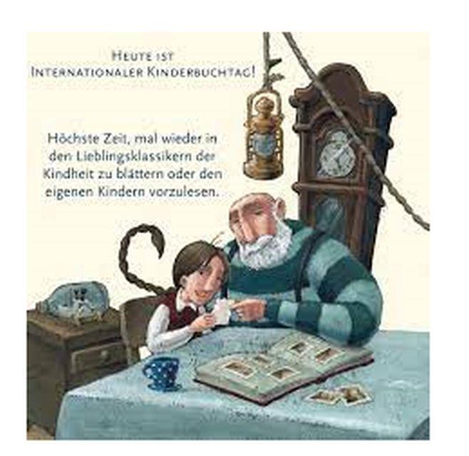 Παγκόσμια Ημέρα Παιδικού Βιβλίου στα Γερμανικά