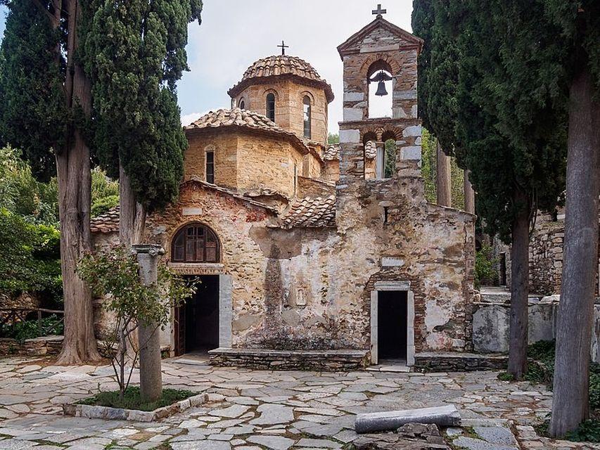 Επίσκεψη στη Μονή Καισαριανής