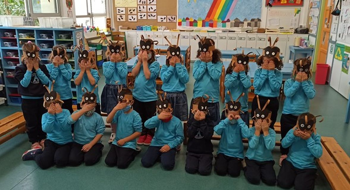 Οι εργατικοί μαθητές τού Ν.4 γνωρίζουν τα εργατικά μυρμήγκια!