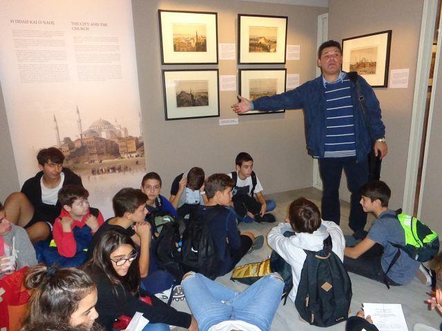 Διδακτική επίσκεψη στο Μουσείο Βυζαντινού Πολιτισμού