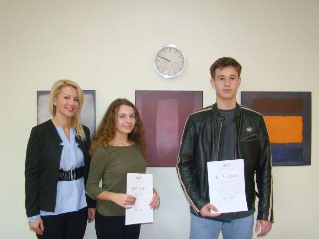 Ξεχωριστή διάκριση μαθητών σε διεθνή καλλιτεχνικό διαγωνισμό