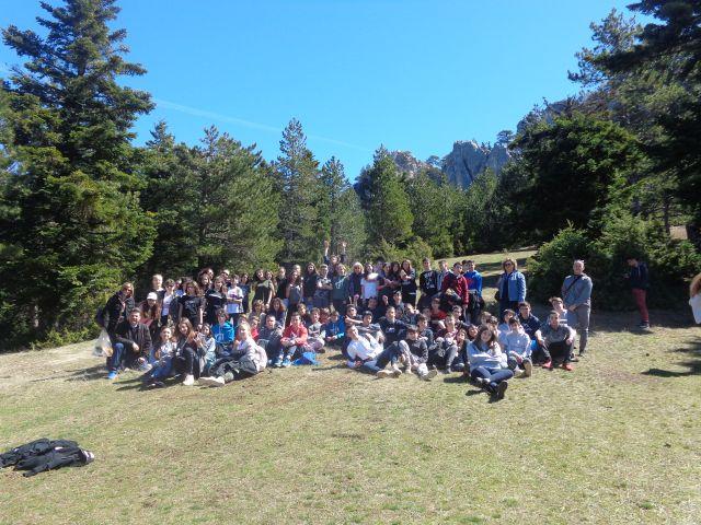 Περιβαλλοντική εξόρμηση της Β΄ Γυμνασίου