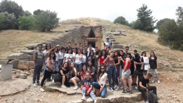 Εκπαιδευτική εκδρομή σε Ναύπλιο,Τολό, Μυκήνες, Επίδαυρο