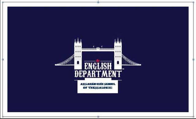 Αγγλικά στο Αρσάκειο Λύκειο Θεσσαλονίκης: ένας απολογισμός τής χρονιάς που πέρασε...
