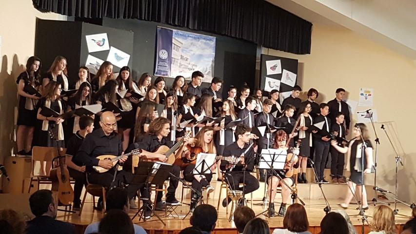 500 άτομα στην 4η Διασχολική Συνάντηση Χορωδιών στο Αρσάκειο Θεσ/νίκης