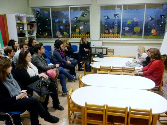 Απογευματινή Σχολή Γονέων - 3η Συνάντηση