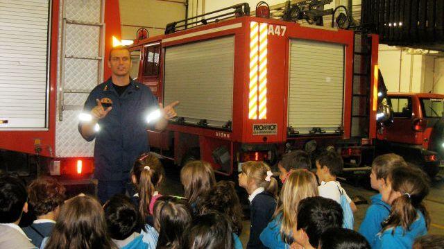 Εκπαιδευτική επίσκεψη σε πυροσβεστικό σταθμό