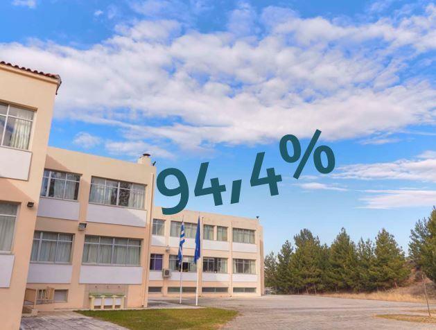 94,4% επιτυχία: Tα αποτελέσματα για την εισαγωγή στο πανεπιστήμιο...